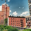 The High Line Park in Manhattan - New York City — Stock Photo