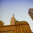NEW YORK CITY - JUN 9 : Empire state building facade — Stock Photo