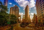 NEW YORK CITY - JUN 10: Historic Flatiron Building — Stock Photo