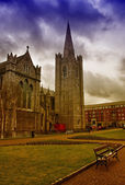 St. Patrick's Cathedral in Dublin, Ireland — Stock Photo