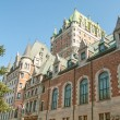 Stock Photo: Magnificence of Hotel Chateau de Frontenac, Quebec Castle