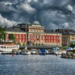 Typical buildings of Copenhagen - Denmark — Stock Photo