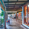 PORT DOUGLAS, AUSTRALIA - JUL 24: Colourful city streets on July — Stock Photo