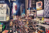 NEW YORK - MAY 6: Featured with Broadway Theaters — Stock Photo