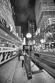 NEW YORK CITY - May 20: Times Square is featured with Broadway — Stock Photo