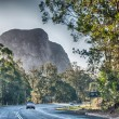 Beautiful colors of Glasshouse Mountains Park in Australia — Stock Photo #30142001