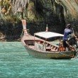 KRABI, THAILAND - AUG 14: Small boat on the ocean — Stock Photo