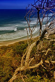 Beautiful scenario of Byron Bay Sea on a sunny winter day — Stock Photo