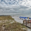 HONEYMOON ISLAND - FLORIDA - JAN 6: Tourists enjoy park beach — Foto de Stock