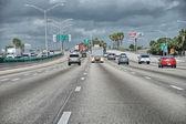 Beautiful interstate of Florida — Stock Photo