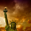The Statue of Liberty - New York City — Stock Photo