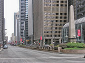 Beautiful cityscape of Chicago, Illinois — Stock Photo