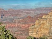 Grand Canyon, Arizona. Wonderful scenario at summer sunset — Stock Photo