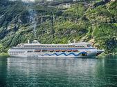 Prachtige landschap van geiranger fjord in noorwegen — Stockfoto
