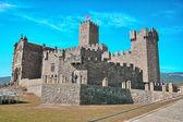 Famoso castillo en el país vasco. — Foto de Stock