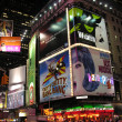 NEW YORK CITY - SEP 28: Lights and advertisements of Times Square — Stock fotografie