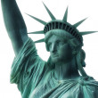 Statue of Liberty, Face detail. — Stock Photo