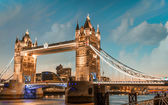 London. Majesty of Tower Bridge. — Stock Photo