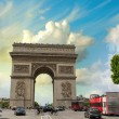 Arc de triomphe (Triumph Arc)  — Stock Photo