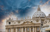 The dome of Saint Peter cathedral — Stock Photo