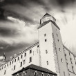 Dramatic Sky above Bratislava Castle — Stock Photo