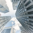New York City buildings, upward view — Stock Photo #31334453