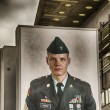 Stock Photo: BERLIN - JUNE 14: Checkpoint Charlie, on June 14, 2012 in Berlin