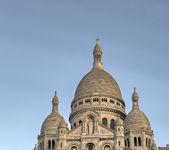 Paris. cathédrale du sacré-coeur en hiver — Photo