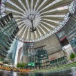 BERLIN - JUN 12: The Sony Center — Stock Photo
