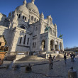 Stock Photo: Paris. Montmartre quarter in winter
