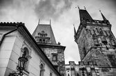 Prague Architectural Detail - Czech Republic — Stockfoto