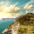 Stock Photo: Cinque Terre, Italy. Wonderful landscape in Spring Season