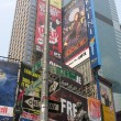 NEW YORK CITY - SEP 22: Times Square colors and ads on September — Photo