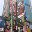 NEW YORK CITY - SEP 22: Times Square colors and ads on September — Stok fotoğraf