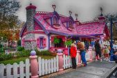 ORLANDO - JAN 2: Walt Disney Resort detail on a beautiful winter — Stock Photo