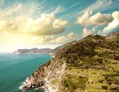 Cinque Terre, Italy. Wonderful landscape in Spring Season — Stock Photo
