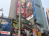 NEW YORK CITY - SEP 22: Times Square colors and ads on September — Stock Photo