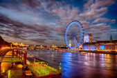 London at night. — Stock Photo