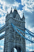 Tower Bridge Structure detail, London — Stock Photo