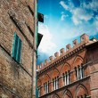 Medieval architecture and buildings - Tuscany, Italy — Stock Photo