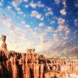 The Bryce Canyon, Utah.  — Stock Photo