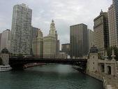 Chicago - sep 20: los turistas disfrutar de calles de la ciudad. — Foto de Stock