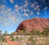 Outback maravilloso colores en el desierto australiano — Foto de Stock
