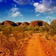 Wonderful colors and landscape of Australian Outback — Stock Photo #32711701