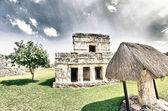 トゥルム、メキシコの素晴らしい古代マヤ遺跡 — ストック写真