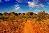 Wonderful colors and landscape of Australian Outback — Stock Photo