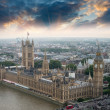 Stock Photo: London, UK. Houses of Parliament and Big Ben