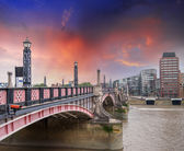 Lambeth Bridge, London — Stock Photo