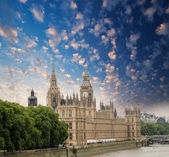 Houses of Parliament in London, UK — Stock Photo