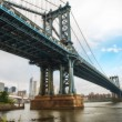 The Manhattan Bridge, New York City. — Stock Photo #33094989